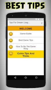 Tips For Dream League - náhled