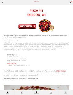 Oregon Pizza Pit Ordering- screenshot thumbnail