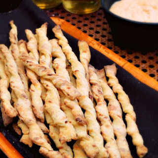 Manchego Cheese Straws.