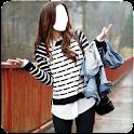 Women Fashion Photo Suit icon
