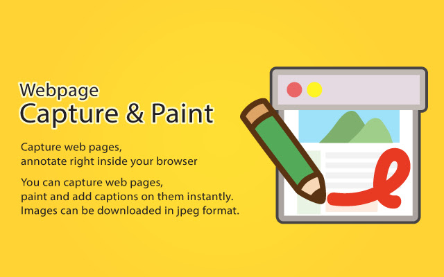 Webpage Capture and Paint
