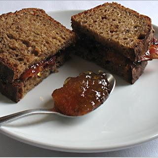 Bacon & Marmalade Sandwich on Pumpernickel Toast