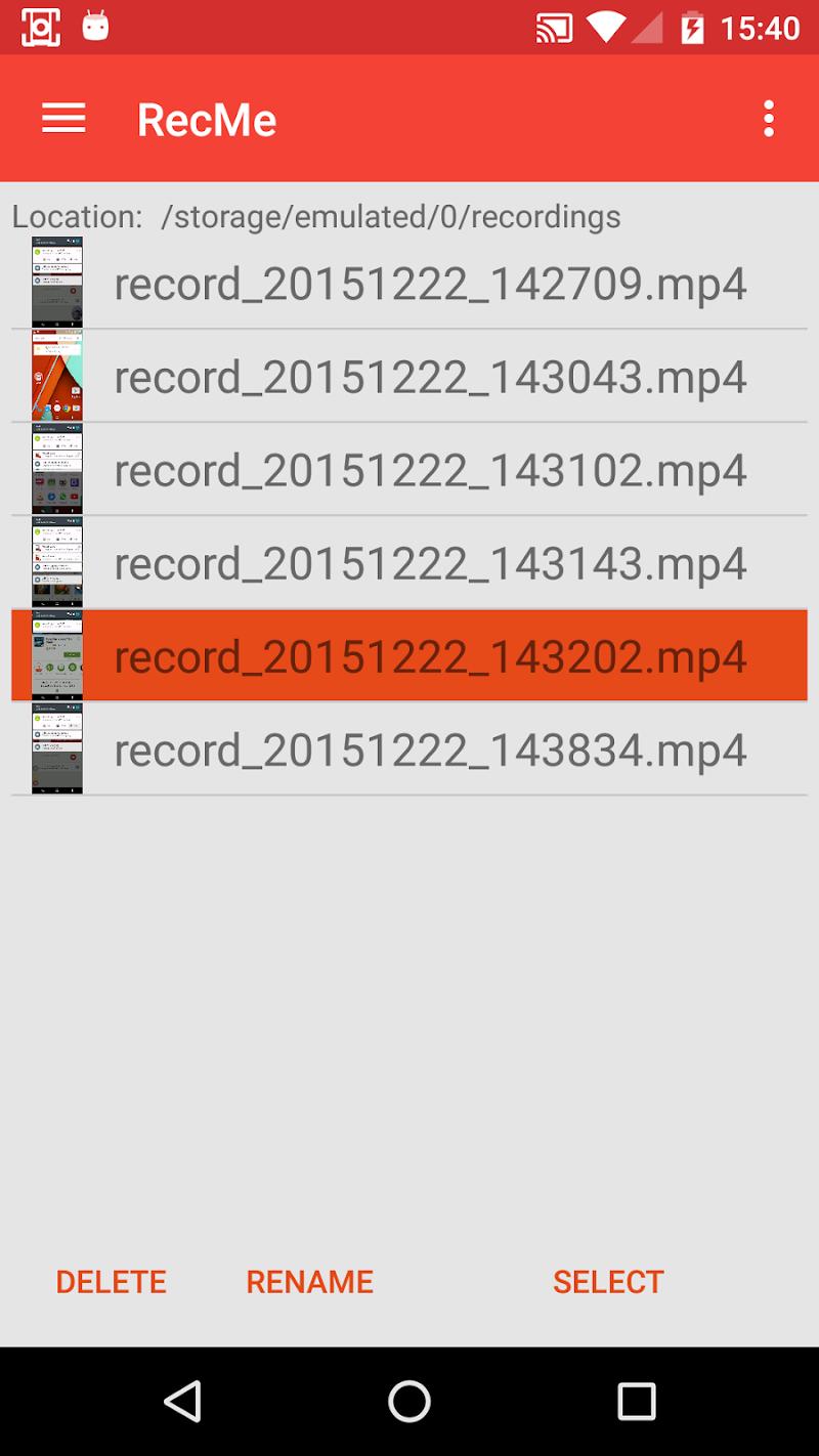 RecMe Screen Recorder Screenshot 1