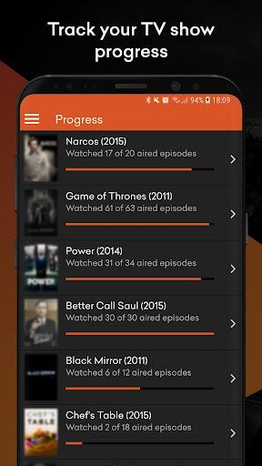 nachos for trakt.tv - track movies and tv shows screenshot 3