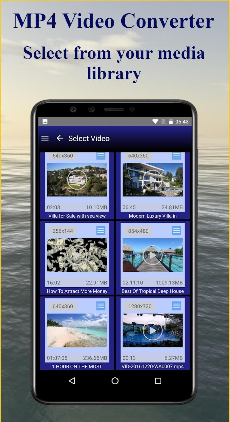 MP4 Video Converter PRO Screenshot 1