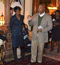 Photo: Cheryl Wills with NYS Senator Eric Adams