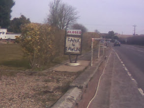 Photo: A sign just east of the town at High Toyton, proving Rednecks were descended from the Lincolnshire Pilgrim Fathers.