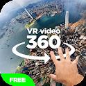 VR video 360 icon