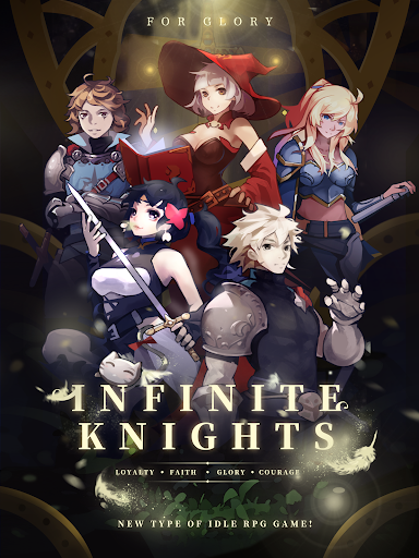 Infinite Knights - Turn-Based RPG apktram screenshots 8