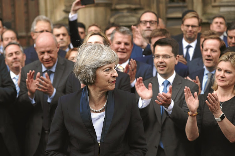 Theresa May. Picture: GALLO IMAGES/GETTY IMAGES/CARL COURT