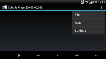 Screenshot of SubtitlePlayer