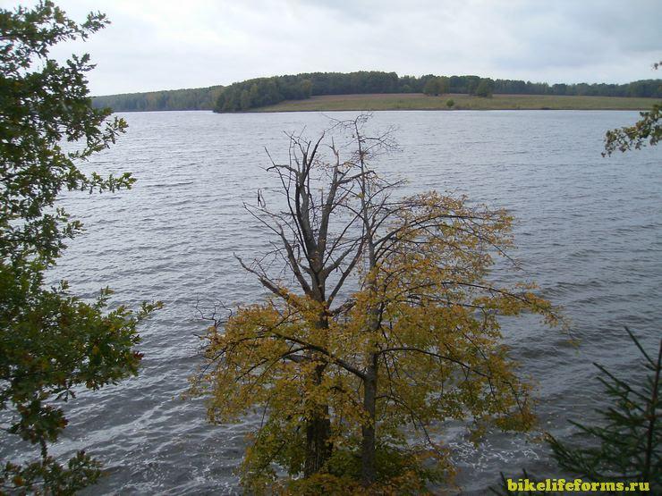 Осень на Вазузском водохранилище