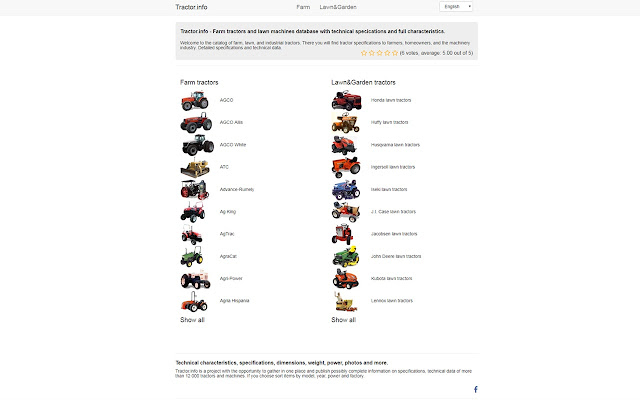 Tractordata