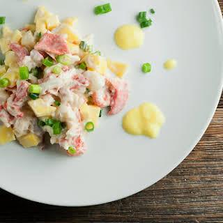 Mango Lobster Salad.