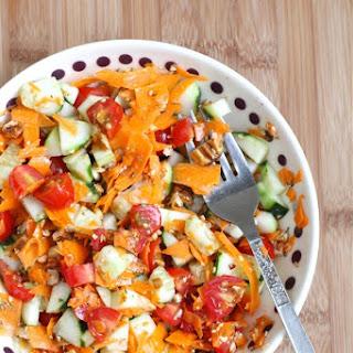 Cucumber Tomato Carrot Salad Recipes