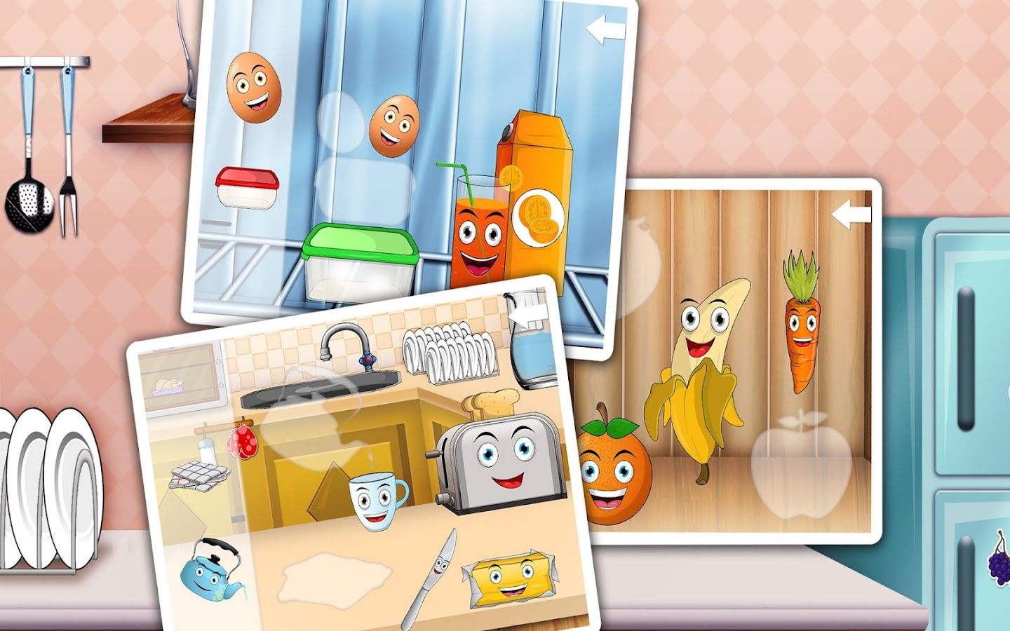 kitchen puzzles for toddlers android apps on google play