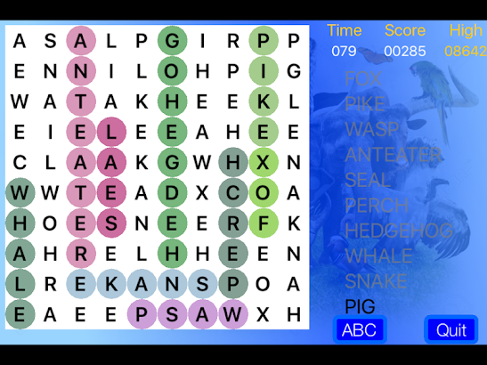BSL WordSearch screenshot