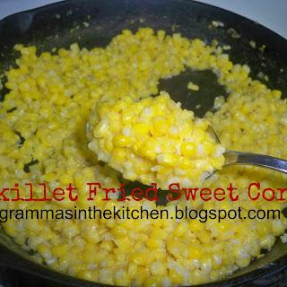 Skillet Fried Sweet Corn.