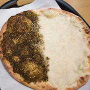 Cheese & Zaatar Manakeesh Manakeesh