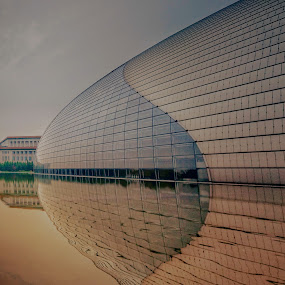 Old and new by Francisco Little - Buildings & Architecture Public & Historical ( modern, contrast, design, beijing )