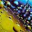 Oil Space by Ashraf Jandali - Abstract Macro