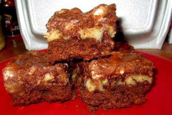 Rocky Road Fudge Bars      (aka: Bitchin' Brownies) Recipe