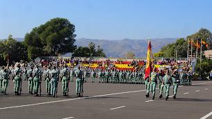 El Arma de Infantería honra a su Patrona en la Brigada de La Legión.