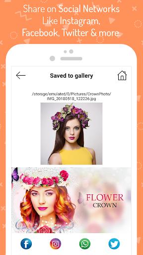 Wedding Flower Crown Photo 1.5 screenshots 8