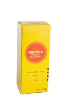 Nuctis D Solución Oral   Frasco X10Ml Sanofi Vitamina D