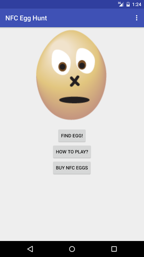 NFC Egg Hunt- screenshot