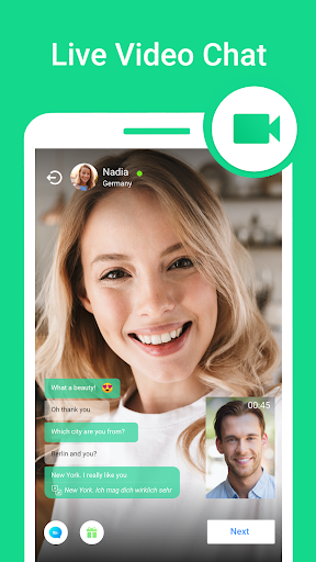 Video Chat W-Match : Dating App, Meet & Video Chat 2.10.1 screenshots 1