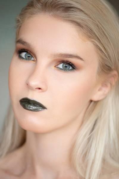 зеленые губы