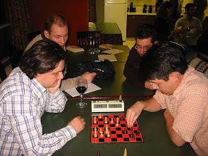 Photo: Chess Master Carlos Santos vs. Aek.