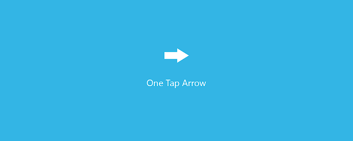 One Tap Arrow