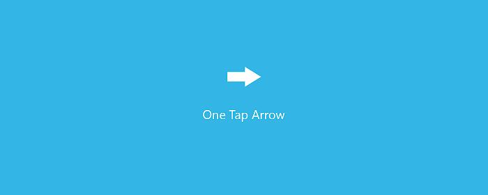 One Tap Arrow