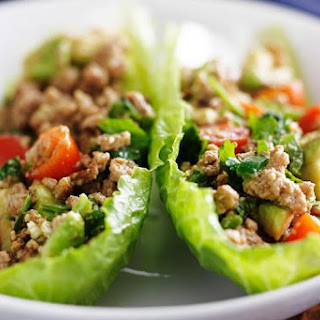 Turkey Taco Lettuce Wraps