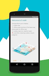 E-walk Free - Offline maps Apk Download Free for PC, smart TV