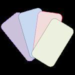 Color Flash Cards Icon