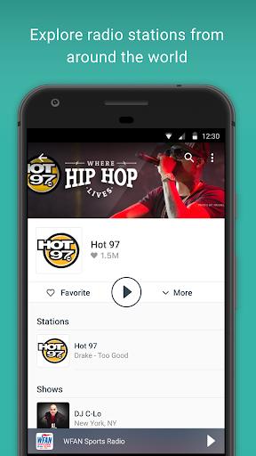 TuneIn Radio: Stream NFL, Sports, Music & Podcasts screenshot 6