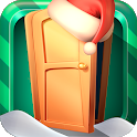 Open 100 Doors - Puzzle. Christmas Games. icon