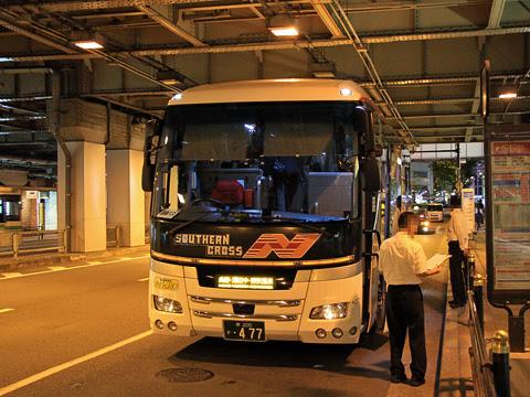 南海バス「サザンクロス」長野線 ・477 大阪駅前改札中
