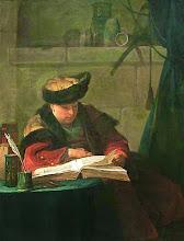 "Photo: Jean-Baptiste Siméon Chardin, ""Il filosofo in lettura"" (XVIII sec.)"
