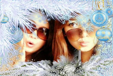 Photo Frame Winter