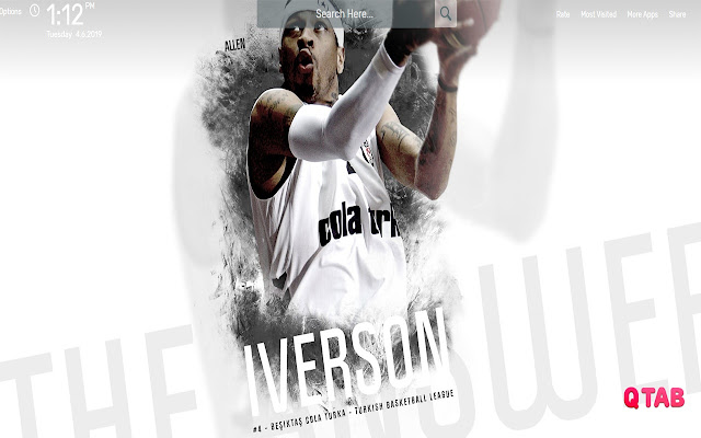 Allen Iverson Wallpapers Hd Theme