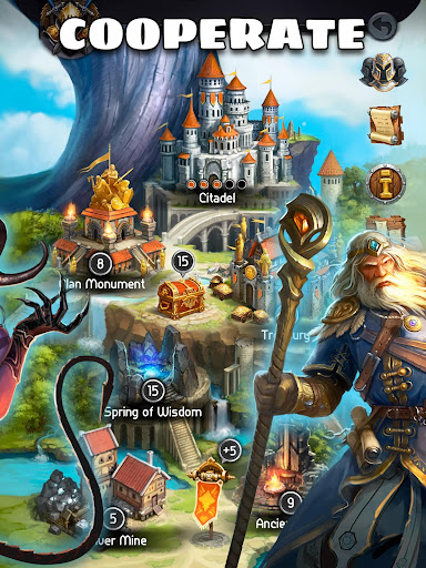 Card Heroes - CCG game with online arena and RPG  screenshots 9