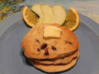 Banana Pineapple Chocolate Chip Pancakes Recipe