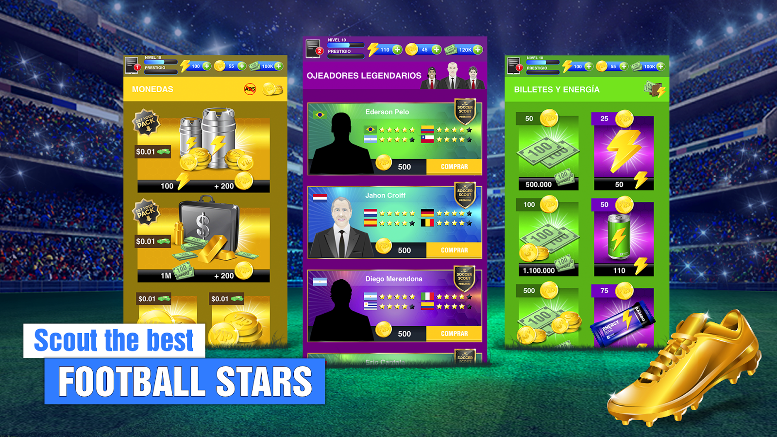 Mobile Football Manager