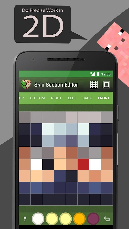 Skin Editor Tool for Minecraft- screenshot