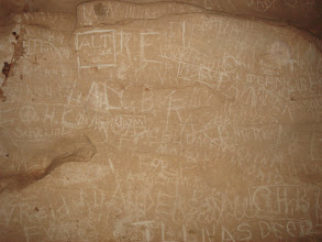 Photo: the writing on the wall