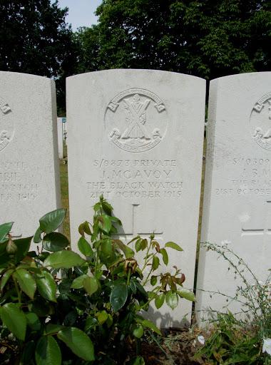 John McAvoy grave